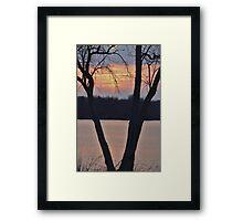 Goodnight Sunshine... Framed Print