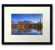 Reflecting Yotei Framed Print