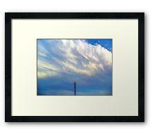 ©HCS Cloudscape Tower II Framed Print