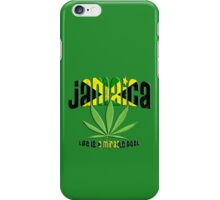 jamaica ganja iPhone Case/Skin