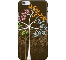 Four Seasons Trees iPhone Case/Skin