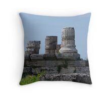 I Know My Place Throw Pillow