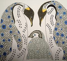 Penguin Love by Melanie  Clements