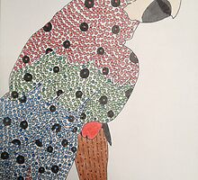 Dotted Macaw by Melanie  Clements