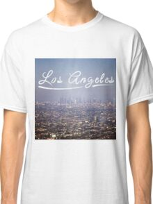 Los Angeles Typography Classic T-Shirt