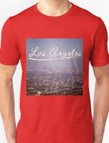 Los Angeles Typography Unisex T-Shirt