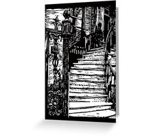 A grand old home, Charleston, SC Greeting Card