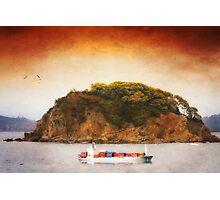 Tropical Cargo Photographic Print