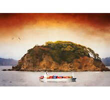 Tropical Cargo Photographic Print