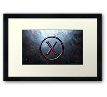 Proxy-Ashes in the ocean (textless) Framed Print