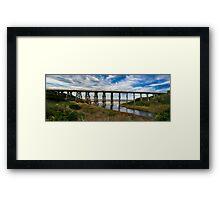 Kilcunda trestle bridge  Framed Print