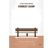 No193 My Forrest Gump minimal movie poster Photographic Print