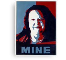 "Gina Minehard ""The Audacity of Mine"" Canvas Print"