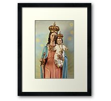 Mary Statue at Taybeh Village Framed Print