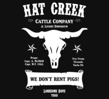 Hat Creek Cattle Company - Lonesome Dove Kids Tee
