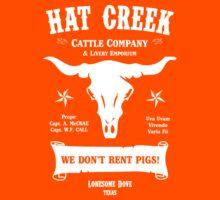 Hat Creek Cattle Company - Lonesome Dove Kids Tee