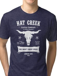 Hat Creek Cattle Company - Lonesome Dove Tri-blend T-Shirt