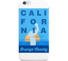 Orange County - California. iPhone Case/Skin