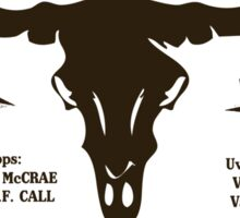 Hat Creek Cattle Company - Lonesome Dove Sticker