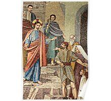 Jesus Visit to Taybeh Poster