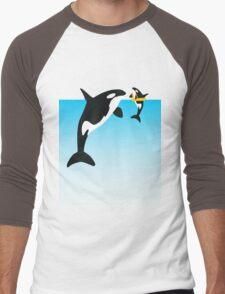 Orca Men's Baseball ¾ T-Shirt