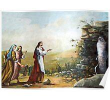 Resurrection of Lazarus / Eleazar Poster