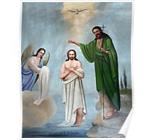 The Baptism Painting Poster