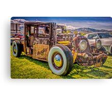 Hillbilly Ride Metal Print