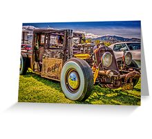 Hillbilly Ride Greeting Card
