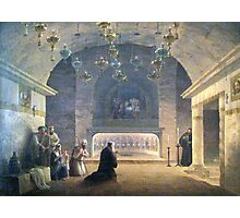 Nativity Painting 1833 Photographic Print