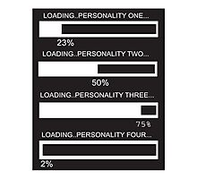 RAM Design Loading Multiple personalities Plate #43 Photographic Print
