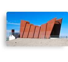 The Miner's Memorial Canvas Print