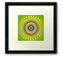 Mandala STACY Framed Print