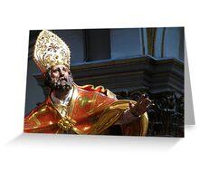 Saint Publius Greeting Card