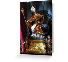 Saint Publius Greeting Card
