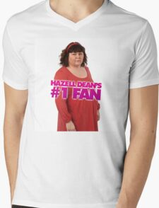 Hazell Dean's #1 Fan Mens V-Neck T-Shirt