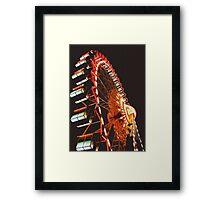 Berlin Ferris Wheel Framed Print