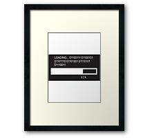 RAM Design Binary for Genius Plate #47 Framed Print
