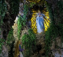 Our Lady of Lourdes by fajjenzu