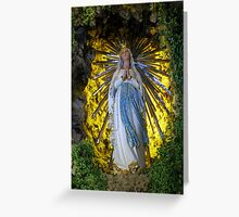 Ave Maria Greeting Card
