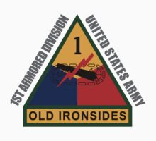 1st Armored Division Kids Tee