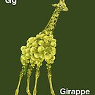 Gg - Girappe // Half Giraffe, Half Grape by bkkbros
