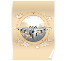Sukhoi Jet Fighter  Poster