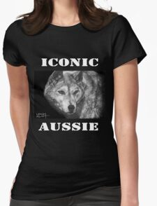 ICONIC AUSSIE - Dingo Womens Fitted T-Shirt