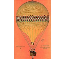 French Hot Air Balloon Photographic Print
