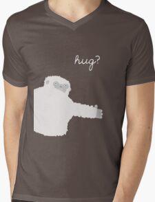 Yeti Hug Mens V-Neck T-Shirt