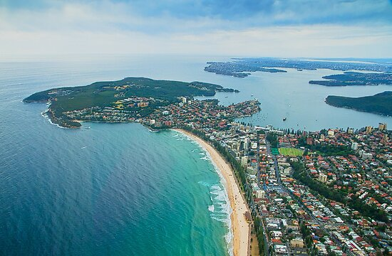 North Head and Manly, Sydney by miroslava