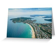 North Head and Manly, Sydney Greeting Card