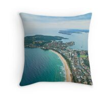 North Head and Manly, Sydney Throw Pillow