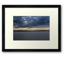 Dividing Light Framed Print